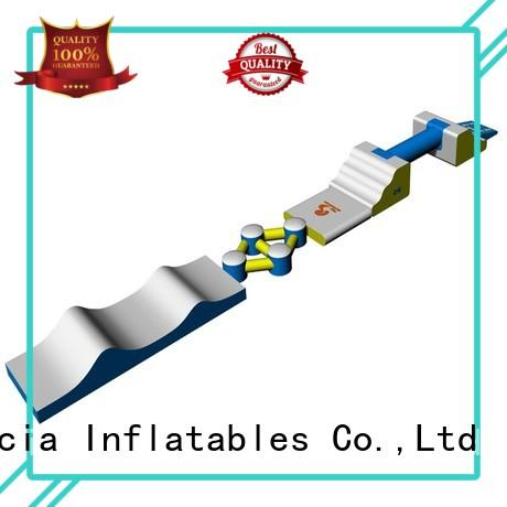 trampoline obstcale new inflatable floating water park inflatable Bouncia