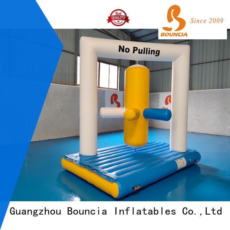 Bouncia colum trampoline water park manufacturer for kids