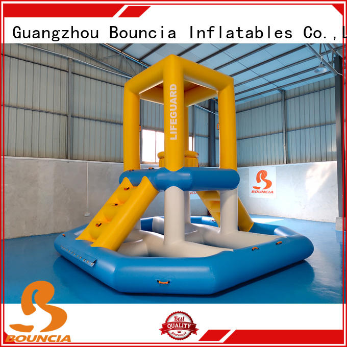 Bouncia ramp large inflatable water slides company for kids