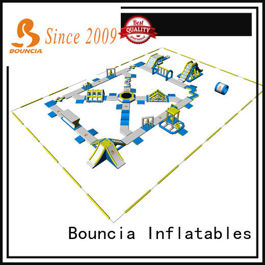 Bouncia floating aqua inflatables factory price for outdoors