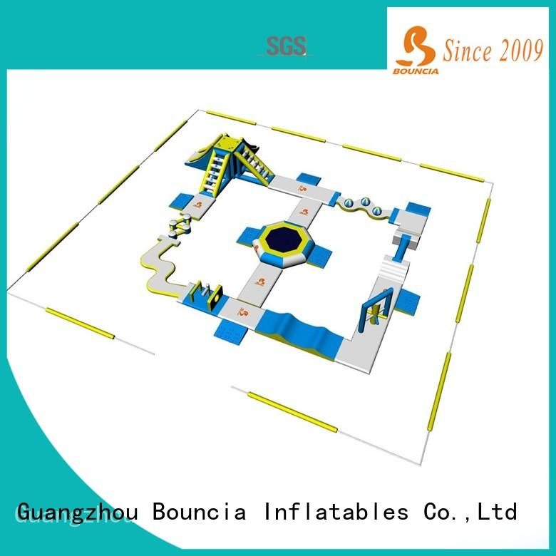 Bouncia playground inflatable water slide park supplier for adults