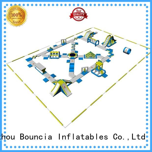 by 184ml11mw certiifcate hot sale blow up water park Bouncia