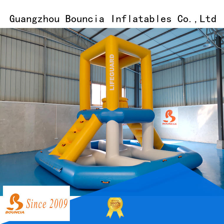 Bouncia stable outdoor water inflatables directly sale for kids