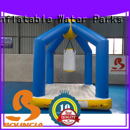 Bouncia certificated blow up obstacle course for business for outdoors