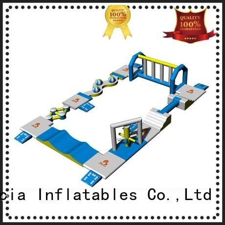 Quality Bouncia Brand small inflatable water park platform
