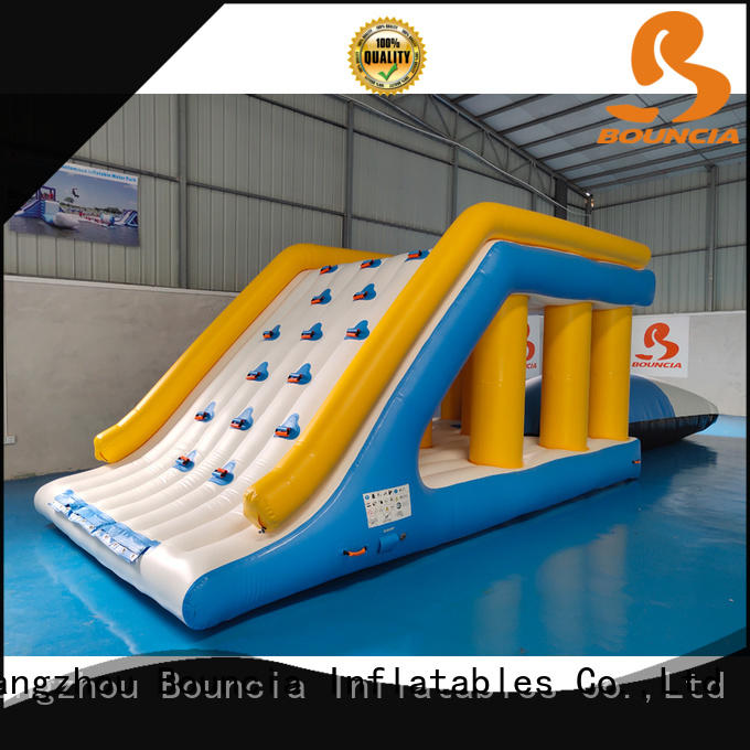 Bouncia certificated inflatable water playground jump for pool