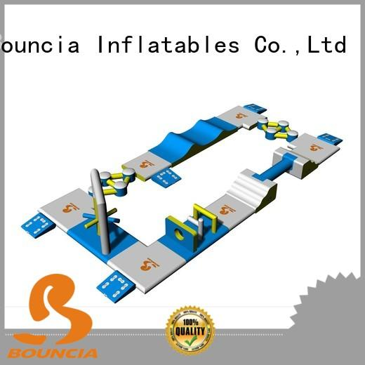 small inflatable water park mini business inflatable Bouncia Brand company
