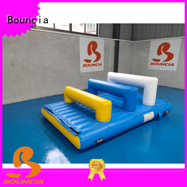 Bouncia jumping platform inflatables on water Supply for kids