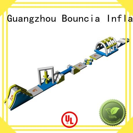 course inflatable backyard water park toys for lake Bouncia