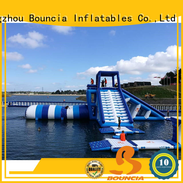 Bouncia ramp outdoor water park for business for adults