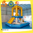 Bouncia ramp inflatable floating slide for lake manufacturers for kids