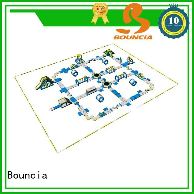 Bouncia large giant inflatable slide directly sale for lake