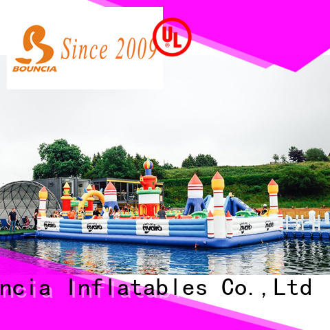 Bouncia inflatable water amusement park manufacturers for toddler