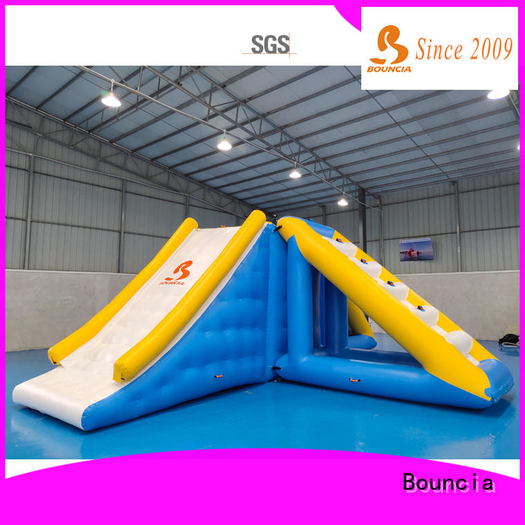 stable inflatable obstacle course trampoline series for outdoors