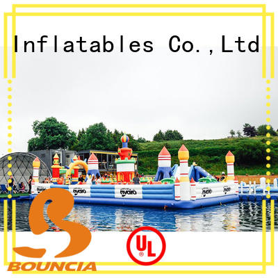 Bouncia safey water inflatables from China for Young child