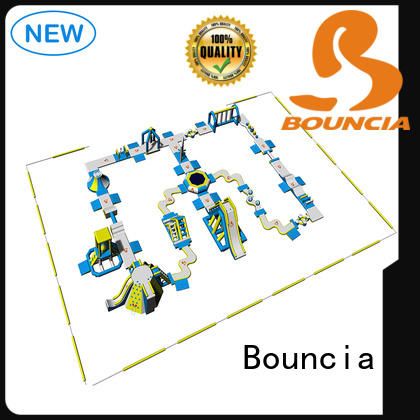 Bouncia large commercial inflatable water park supplier for outdoors