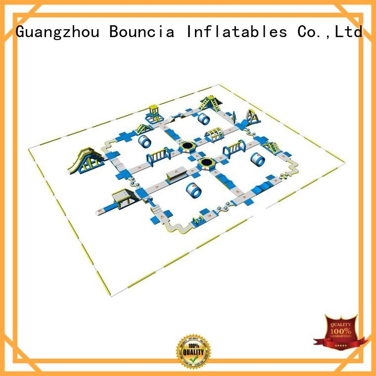 inflatable water park for adults bounica giant inflatable Bouncia Brand