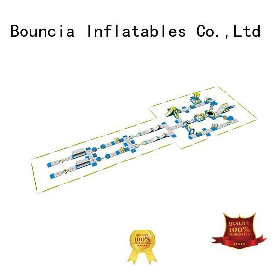 certiifcate 184ml11mw inflatable water park for adults Bouncia Brand
