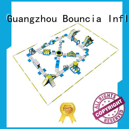 Bouncia price blow up water park wholesale for kids