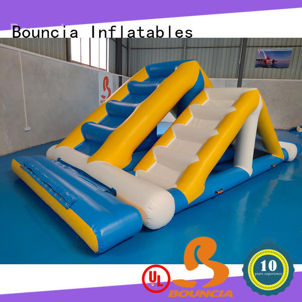 Bouncia tuv inflatable water games customized for outdoors