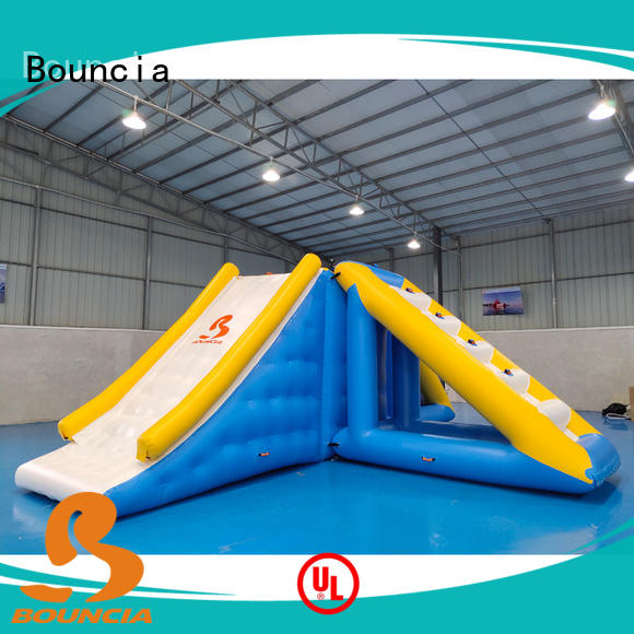 Bouncia certificated aqua inflatables manufacturer for adults