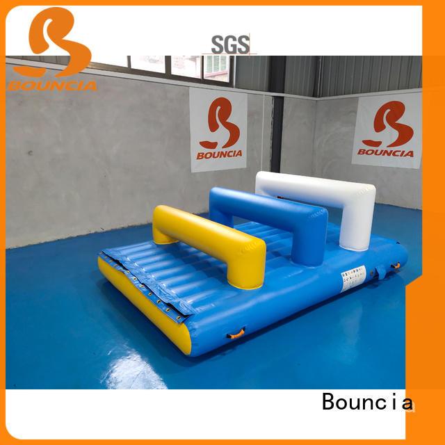 Bouncia trampoline water park games manufacturer for kids
