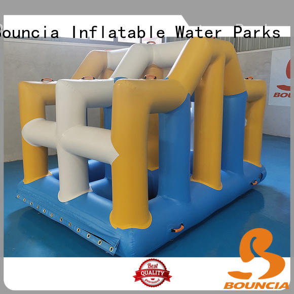 Bouncia ramp inflatable commercial water park for business for adults