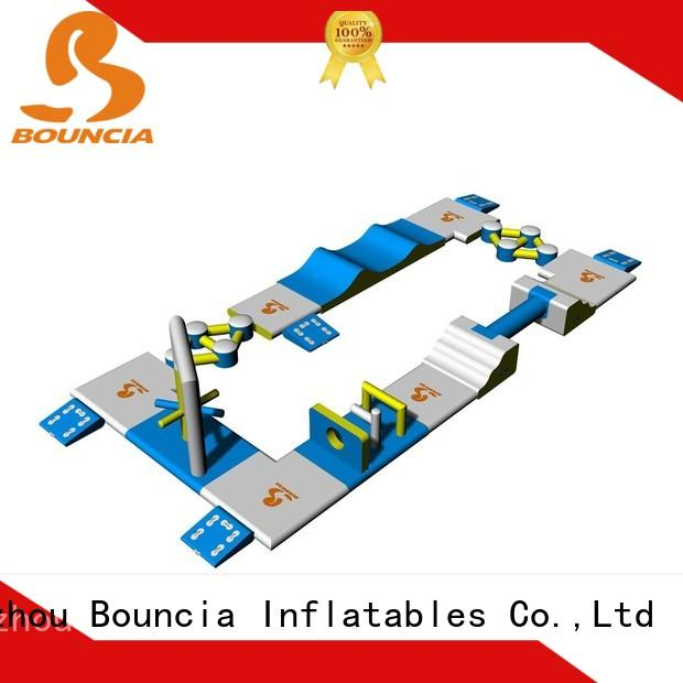 Bouncia commercial inflatable water sports customized for pools