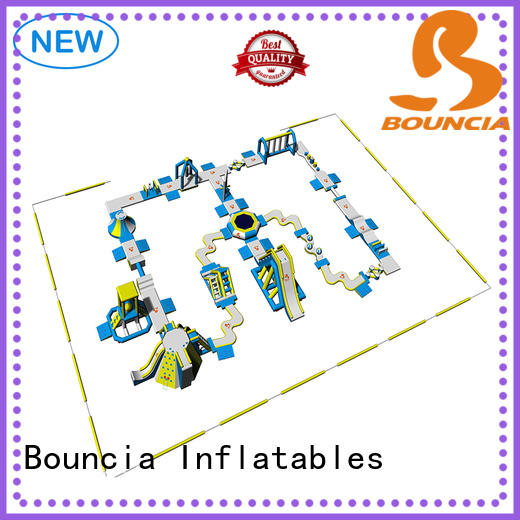 80 people outdoor inflatable water slide wholesale for adults Bouncia