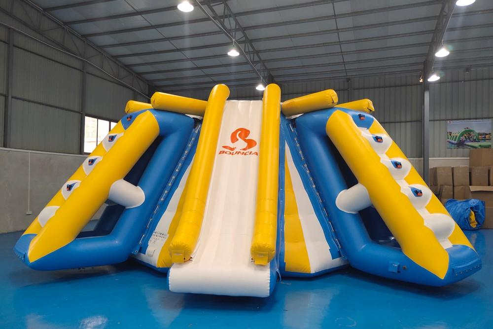 Bouncia -Find Inflatable Assault Course Awesome All In One Station Inflatable
