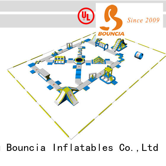 Bouncia certificated water inflatables for sale wholesale for lake