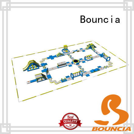 Bouncia splash inflatable lake floats Suppliers for kids