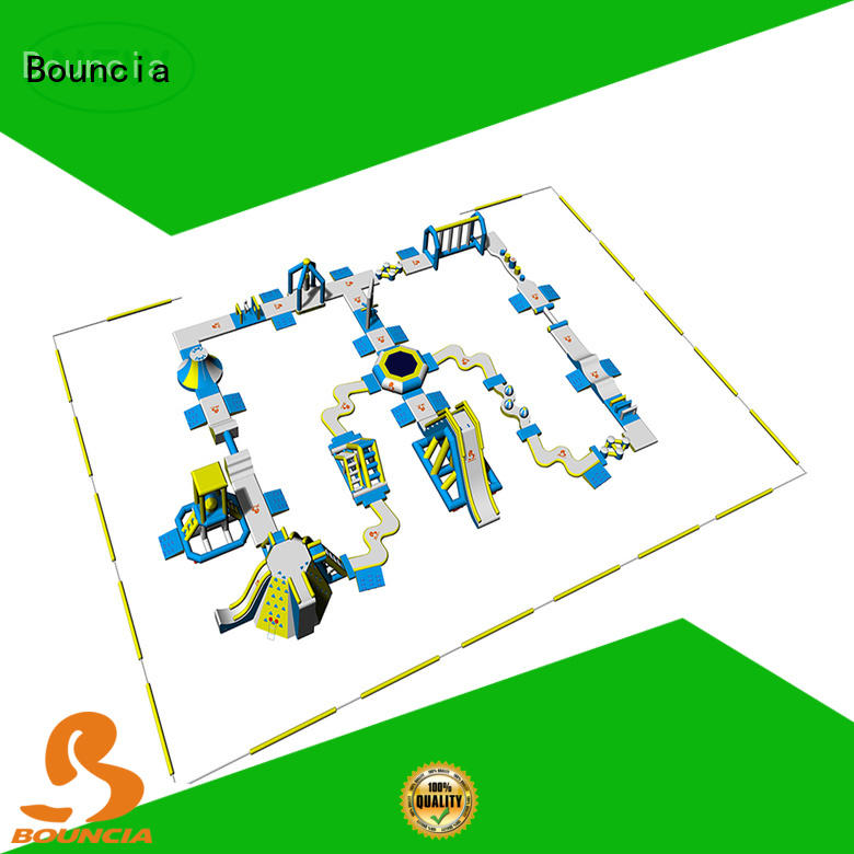 equipment inflatable water park in stock manufacturer for adults