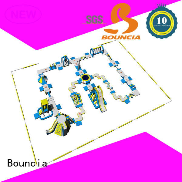 Bouncia splash water inflatables for business for adults