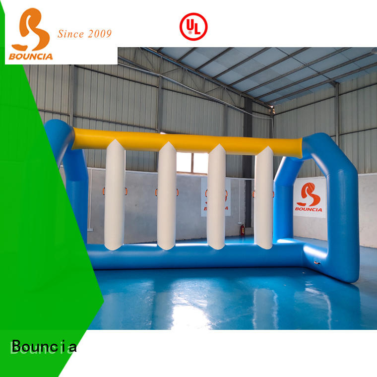 stable inflatable floating slide for lake mini games from China for outdoors