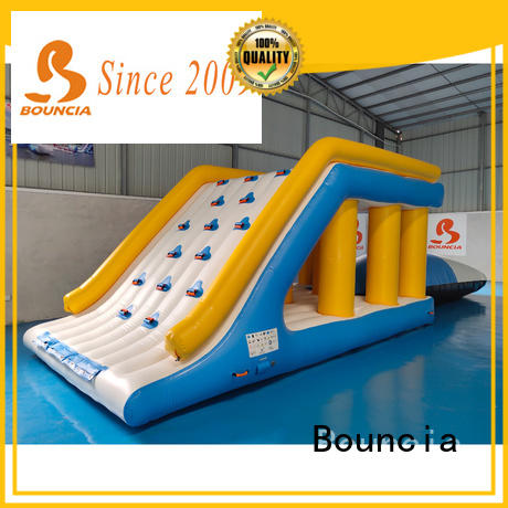 awesome bouncy water slide beam customized for pool