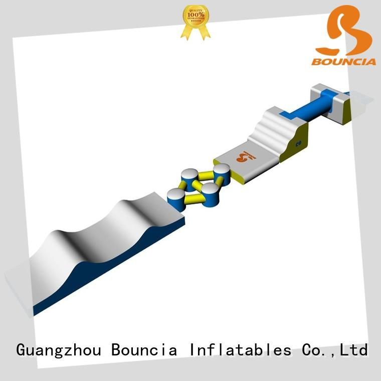 commercial inflatable water slide park obstacle manufacturer for kids