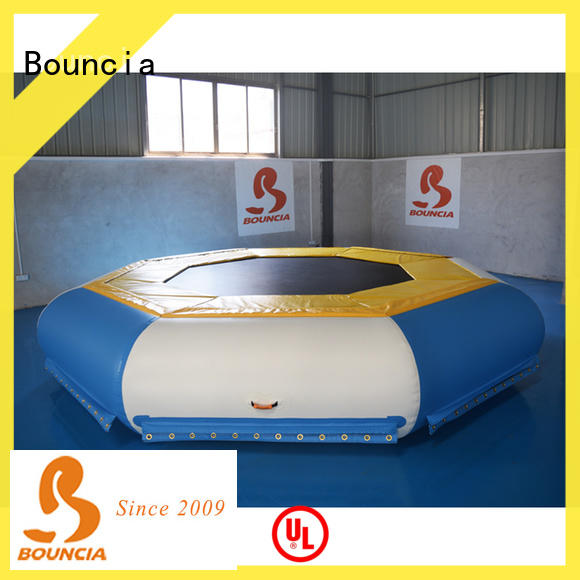 Bouncia certificated water inflatables customized for pool