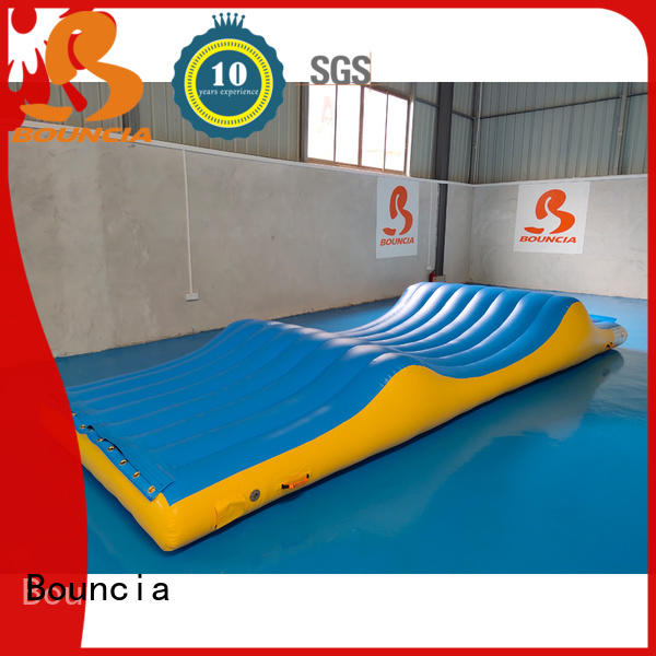 Bouncia typhon best inflatable water slide customized for pool