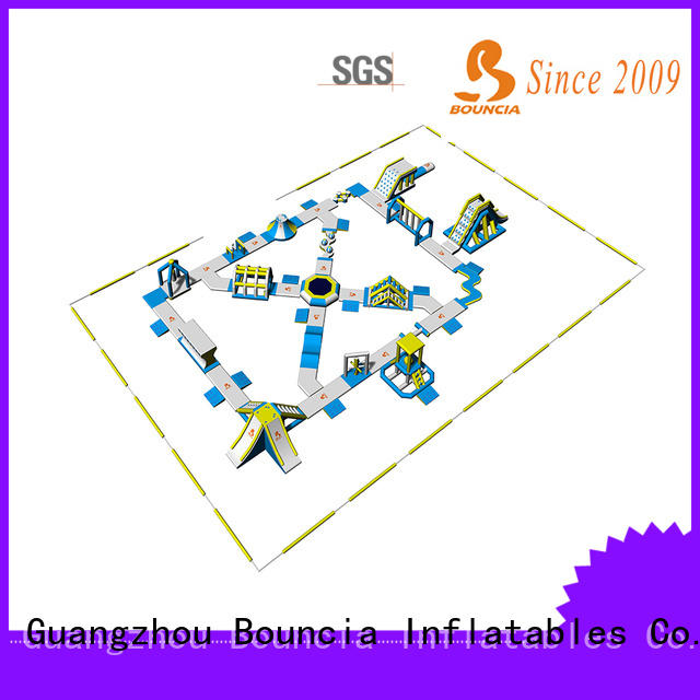 Bouncia sports commercial inflatable water park factory price for outdoors