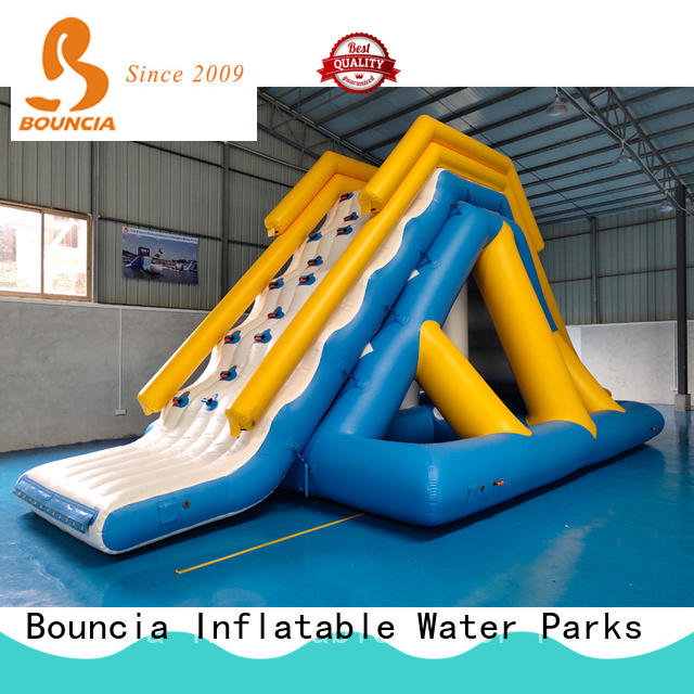 Bouncia mini games inflatable lake obstacle course factory for kids
