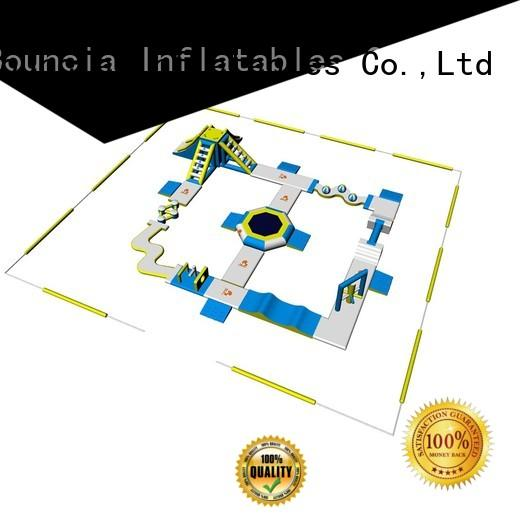 Hot blow up water park bouncia Bouncia Brand