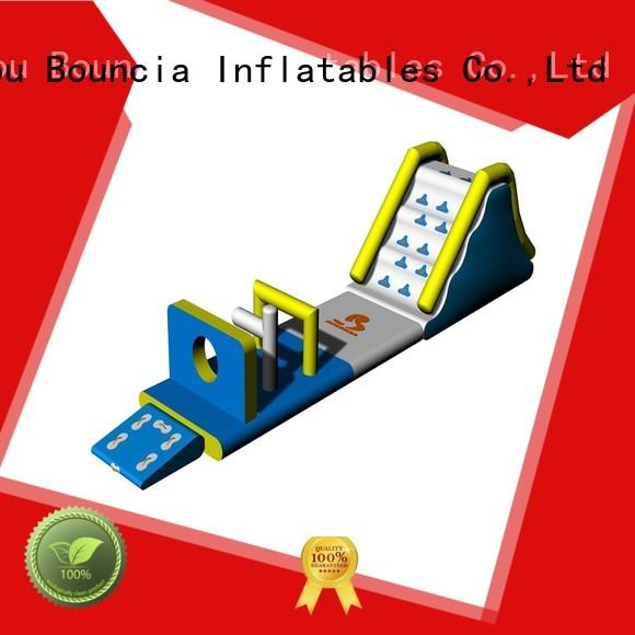 commercial floating inflatable floating water park inflatable water Bouncia company