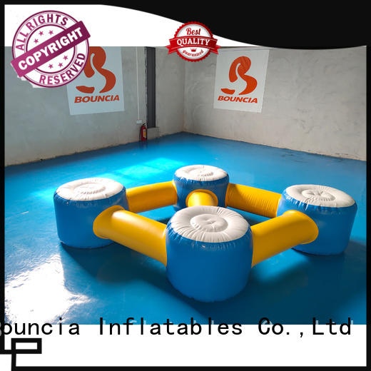 Custom jump sea inflatable water games Bouncia exciting