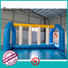 Bouncia certificated inflatable water obstacle course customized for adults