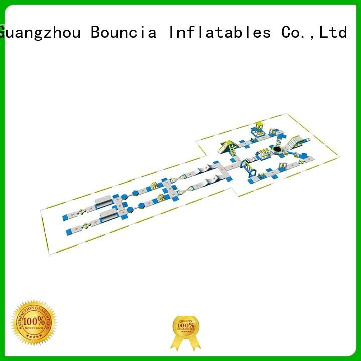 inflatable water park for adults aquapark rental giant inflatable aqua Bouncia Brand