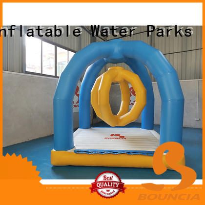 Bouncia typhon inflatable waterslides company for pool