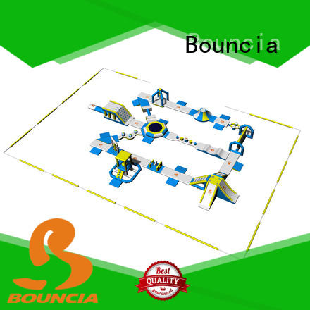 Bouncia floating floating water playground factory price for outdoors