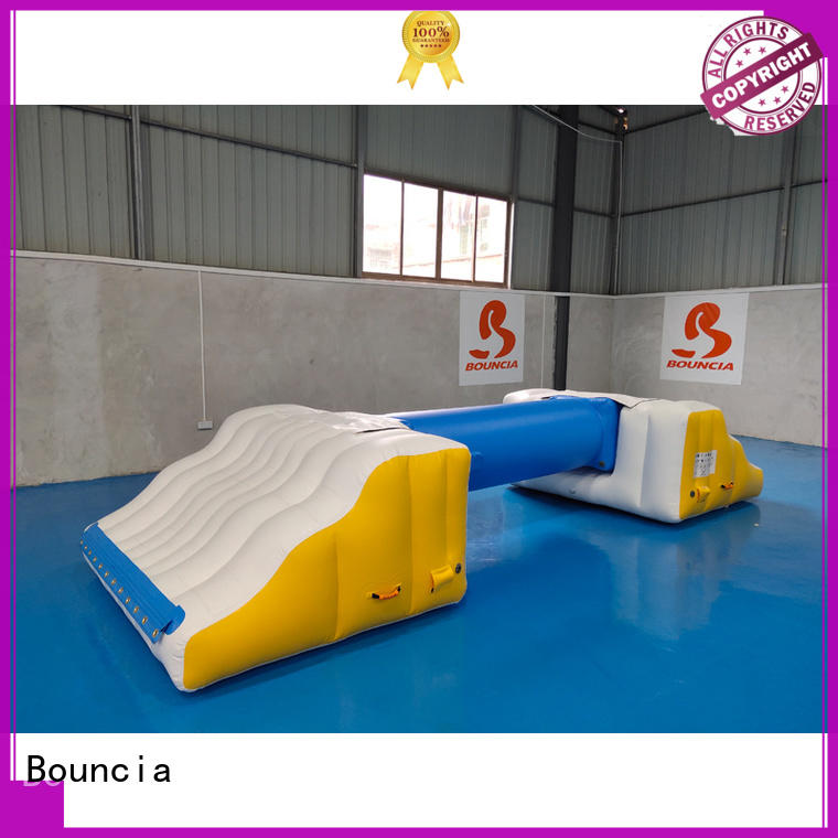Bouncia Brand swimming grade guard custom inflatable factory