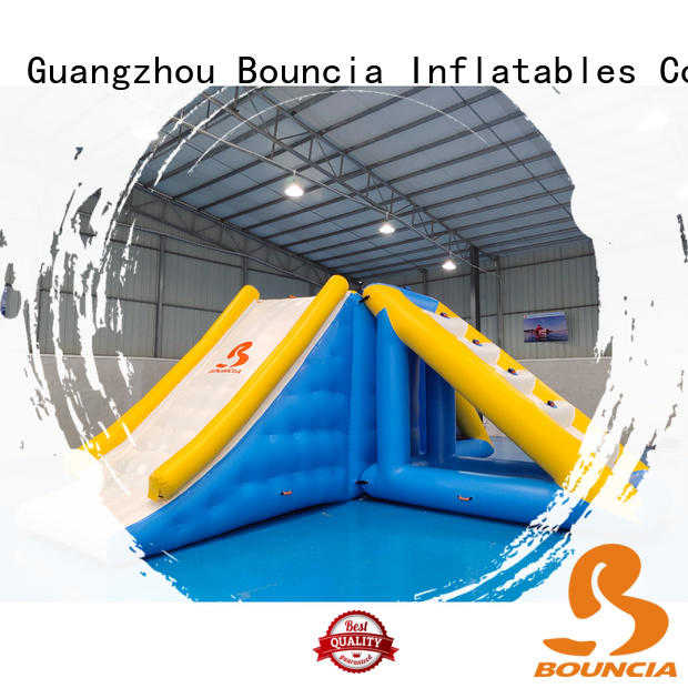 commercial colum inflatable slipping inflatable factory Bouncia Brand